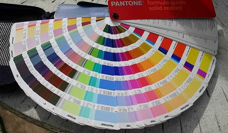 pantone carta de color